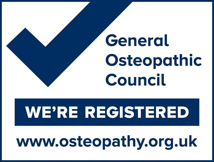 Osteopathic registration number