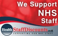 Discounts on everything for NHS Staff